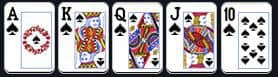 royal flush poker online