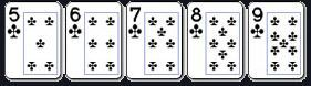 straight flush poker online